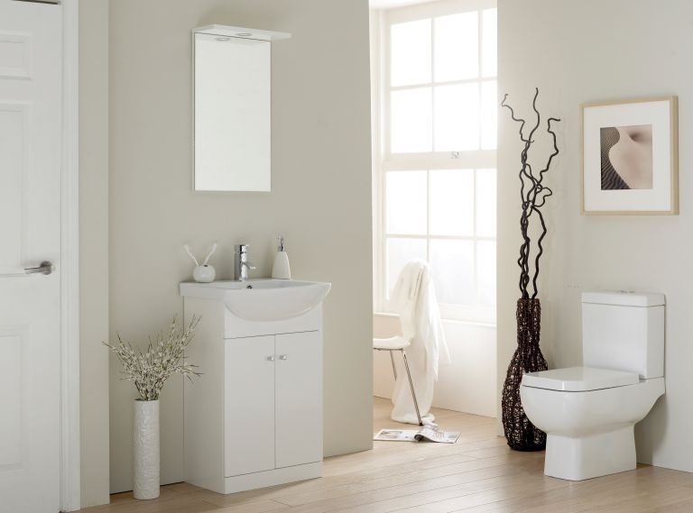 Fusion Modular bathroom by The Pure Bathroom Collection from Smiths Briten