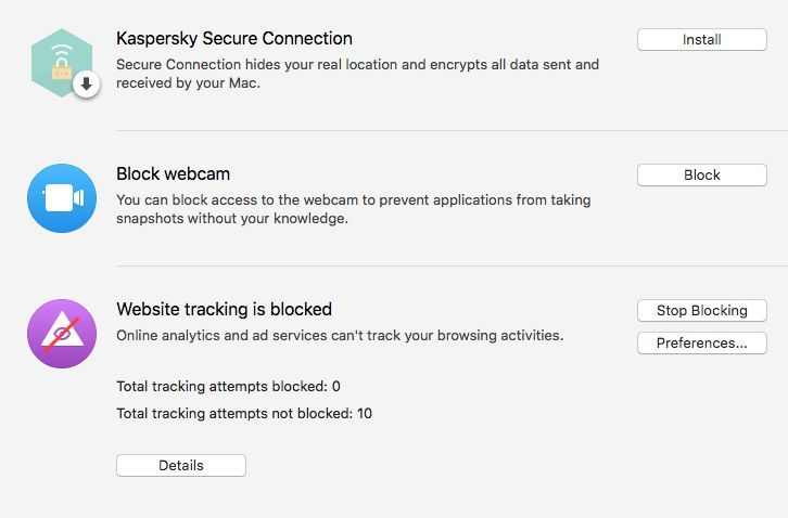 Kaspersky Internet Security for Mac Review - Pros, Cons and Verdict
