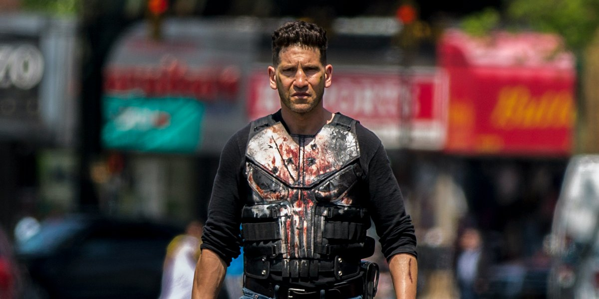 jon bernthal the punisher season 2 skull jacket netflix