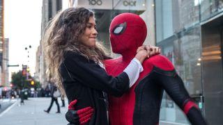 Michelle and Spider-Man in Spider-Man: No Way Home
