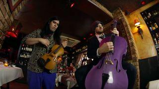 Rob Scallon on the cello