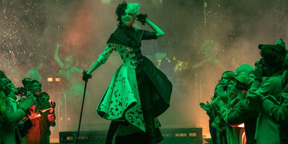 Disney's Cruella Star Talks Shooting That Epic Fashion Show