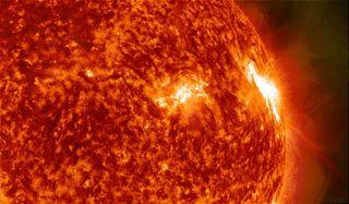 M7-Class Solar Flare