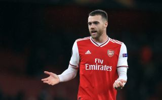 Calum Chambers has featured just twice for Arsenal this season.