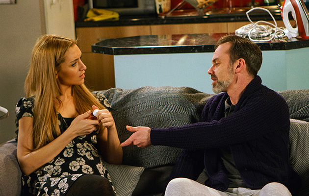 Billy is forced to reveal to Eva that he's addicted to painkillers