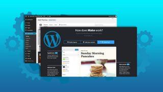 Screenshots of tabs from PressShack University WordPress Training