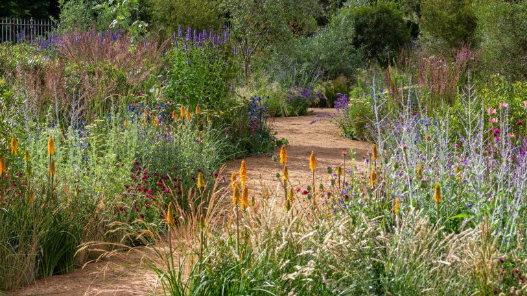tom stuart-smith's garden design for 2021 hampton court palace garden festival trends