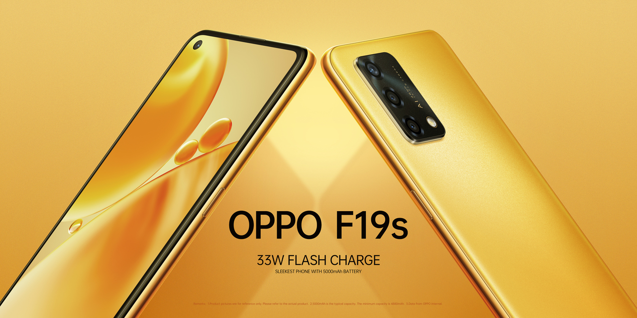The Oppo F19s