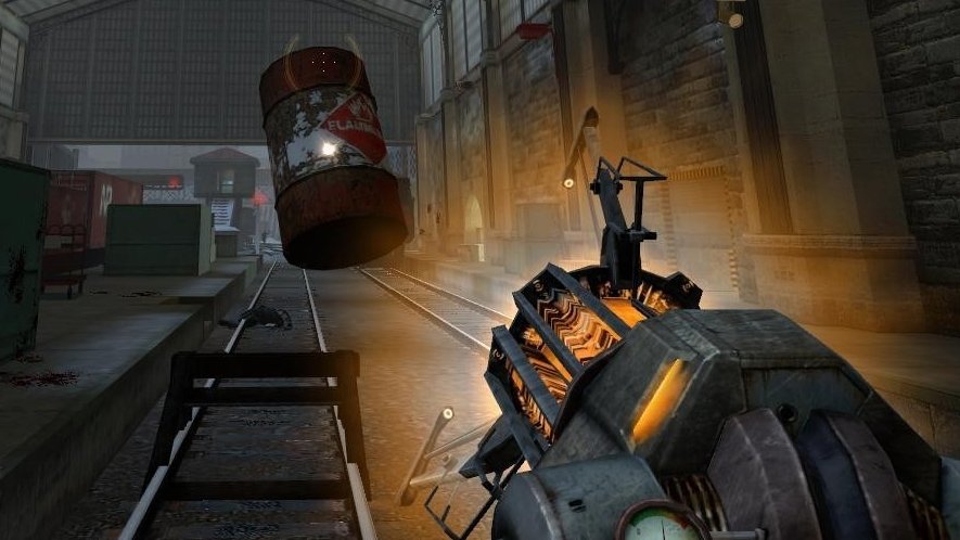 Great moments in PC gaming: When the gravity gun turns blue in Half-Life 2 | PC Gamer