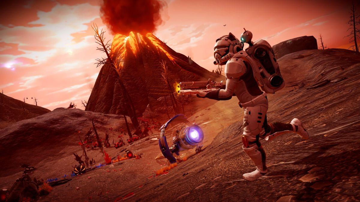 No Man's Sky Origins update goes live, brings giant sandworms