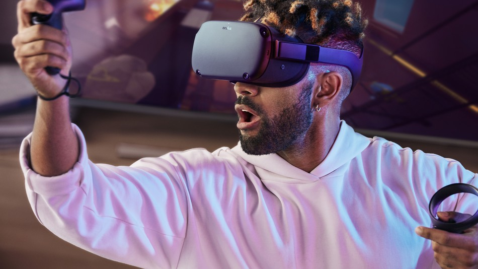 The Oculus Quest isn't as powerful as the Rift, but it's probably