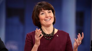 Cathy McMorris Rodgers at the 2018 Conservative Political Action Conference in National Harbor, Maryland.