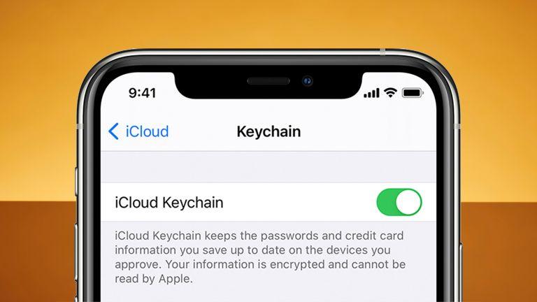 Apple iPhone iCloud keychain Google Chrome