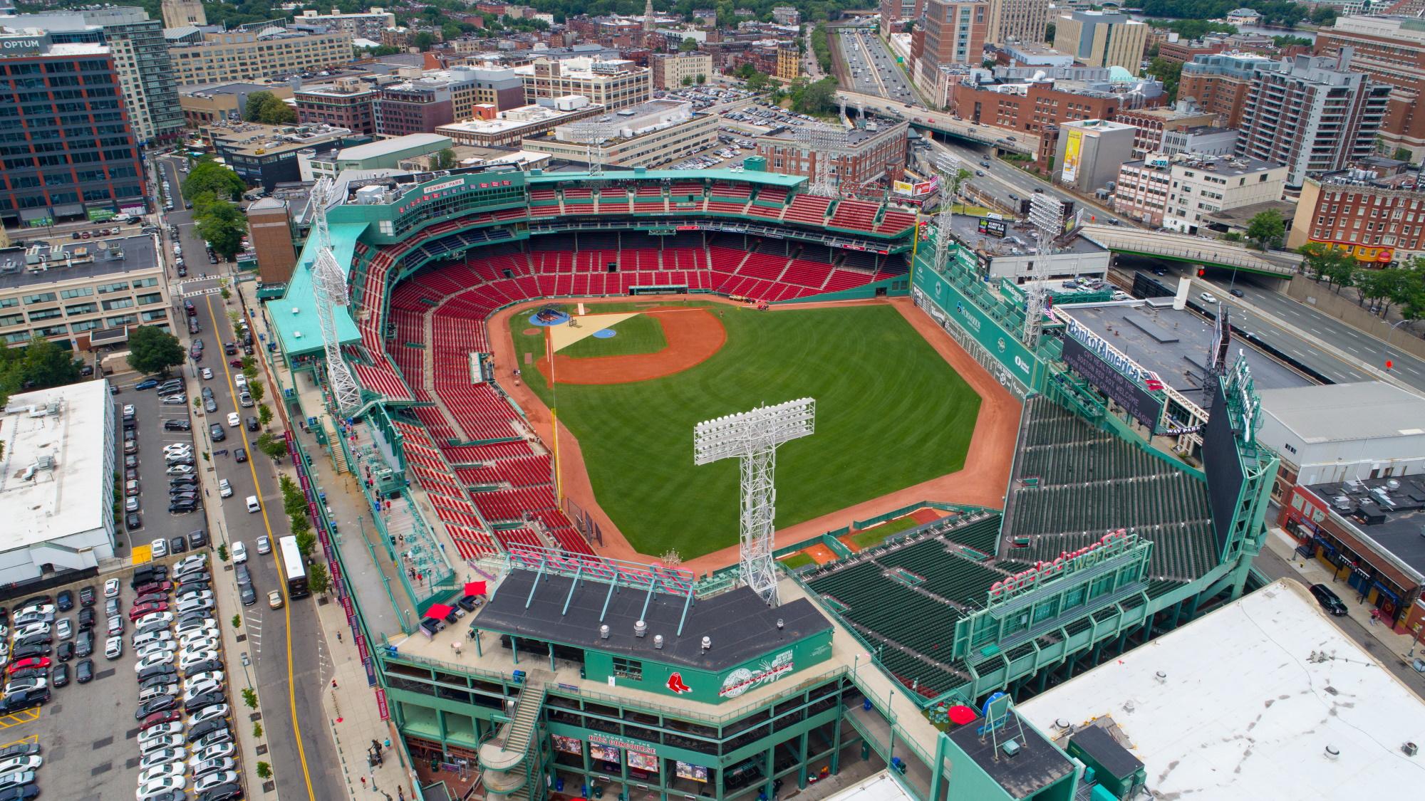 Fenway Park - home of the Boston Red Sox MLB baseball team