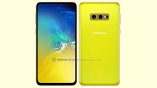 The yellow Galaxy S10e is rather bright. Image Credit: MySmartPrice