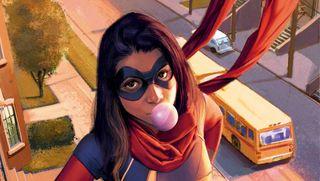 Ms Marvel from Marvel Comics.