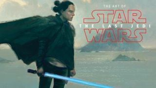 The Art of Star Wars The Last Jedi book cover