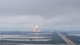 Feb 19 Falcon 9 liftoff