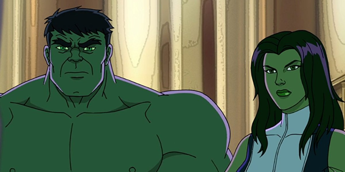 The Incredible Hulk and She-Hulk on Hulk and the Agents of SMASH