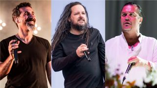 System Of A Down's Serj Tankian, Korn's Jonathan Davis and Faith No More's Mike Patton