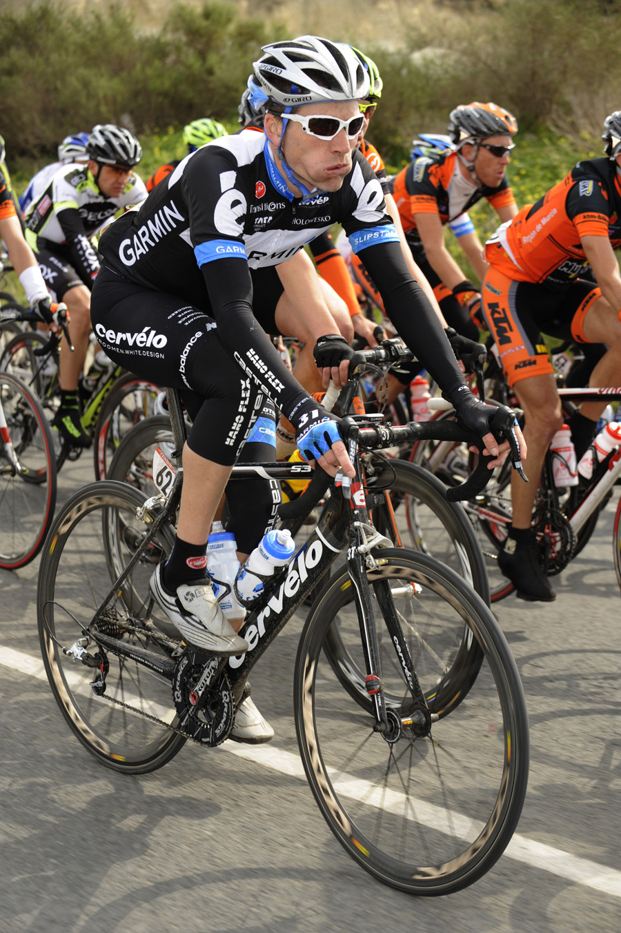 David Zabriskie, Tour of Murcia 2011, stage one