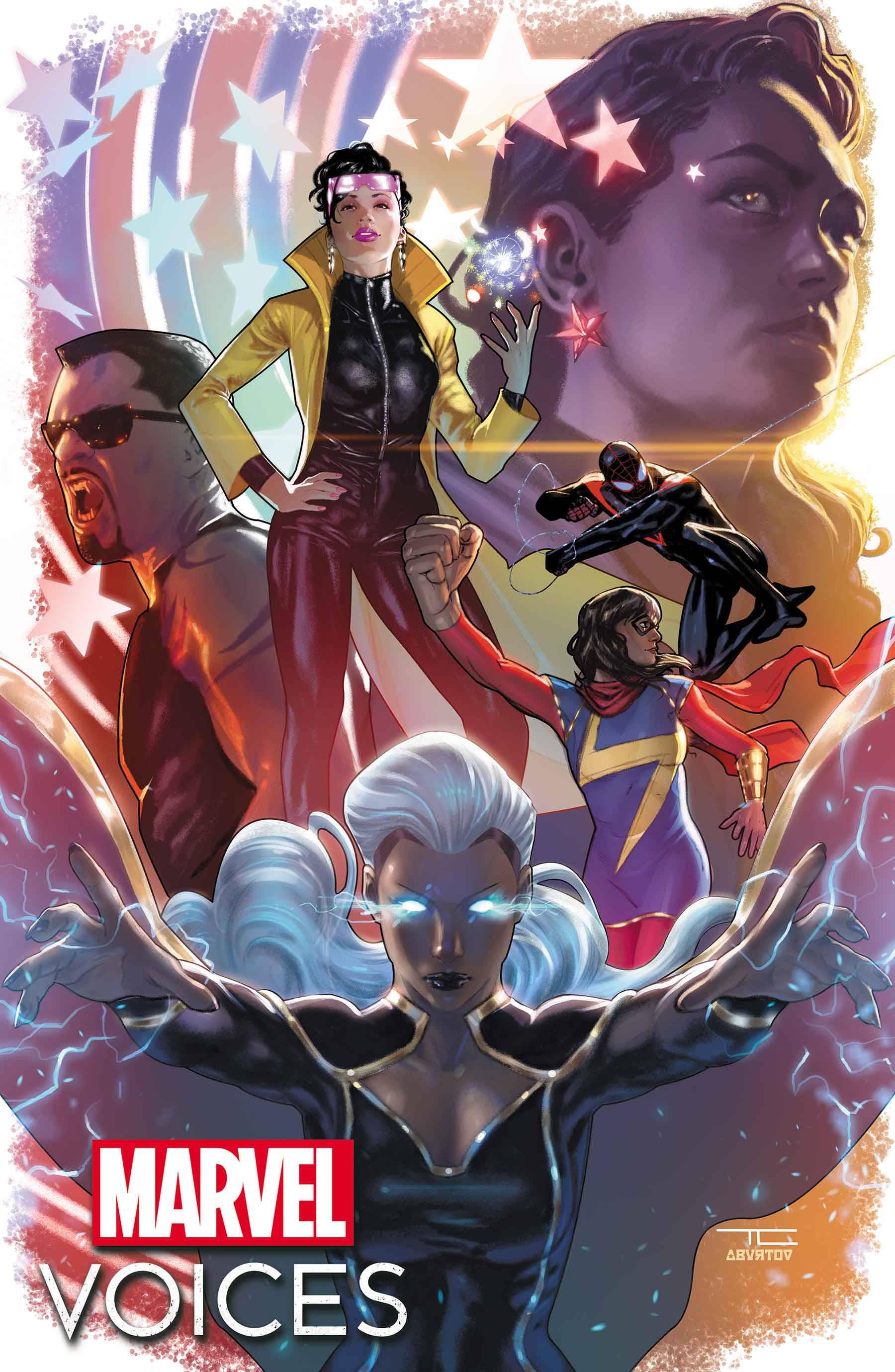 Portada de Marvel's Voices: Legacy # 1