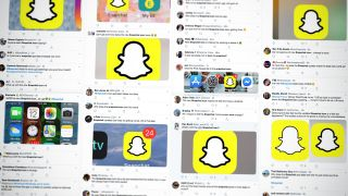 New Snapchat icon