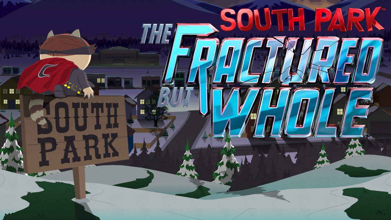 South park the Fractured But Whole promo art
