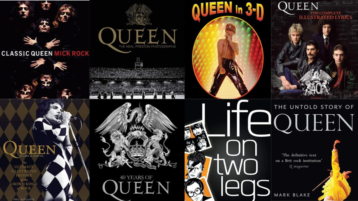 12 essential Queen books: Explore the world of the UK's best-loved rock champions