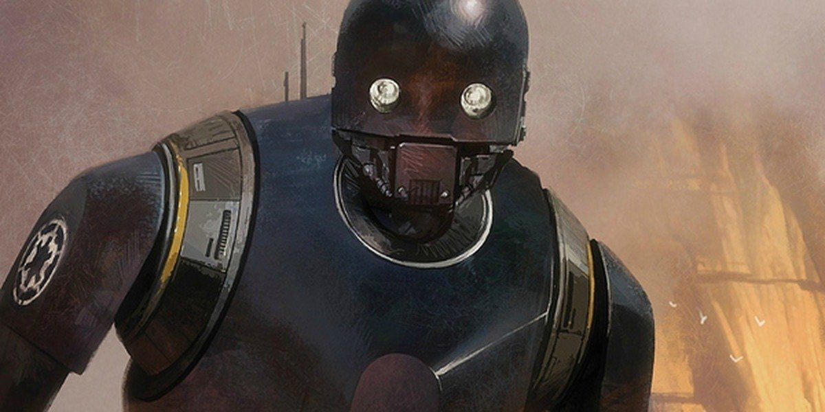 K-2SO in Rogue One: A Star Wars Story.