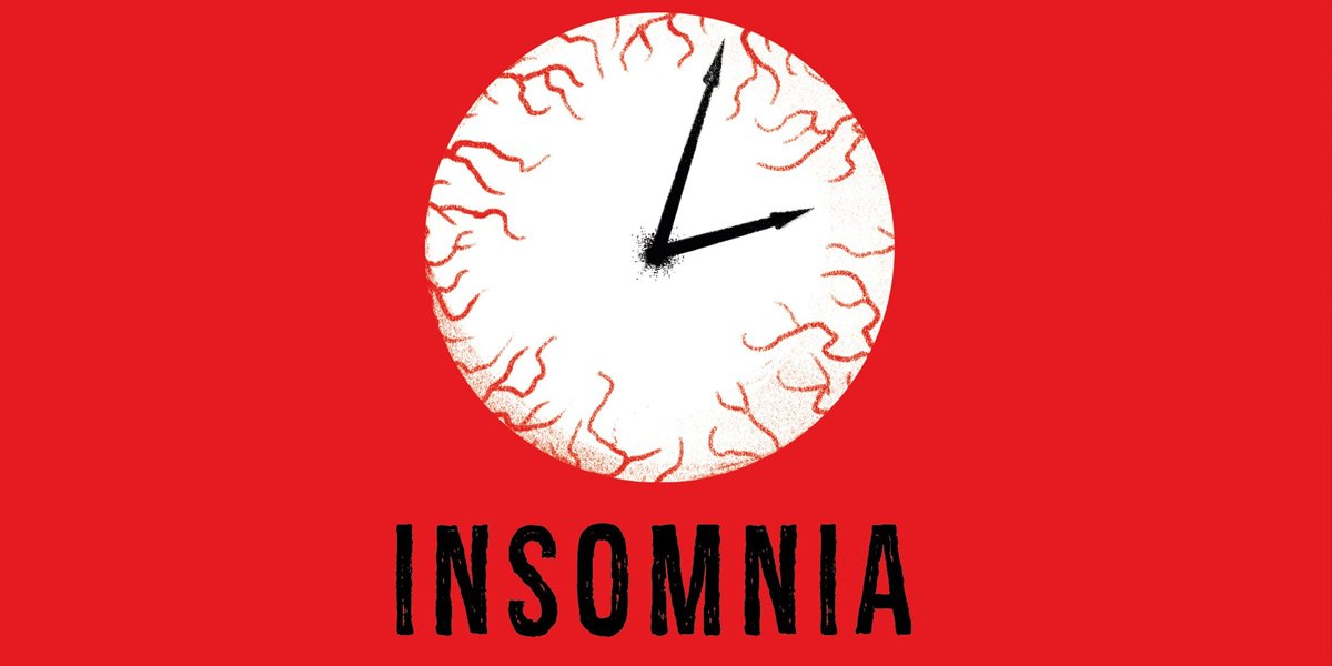 Insomnia Stephen King book cover