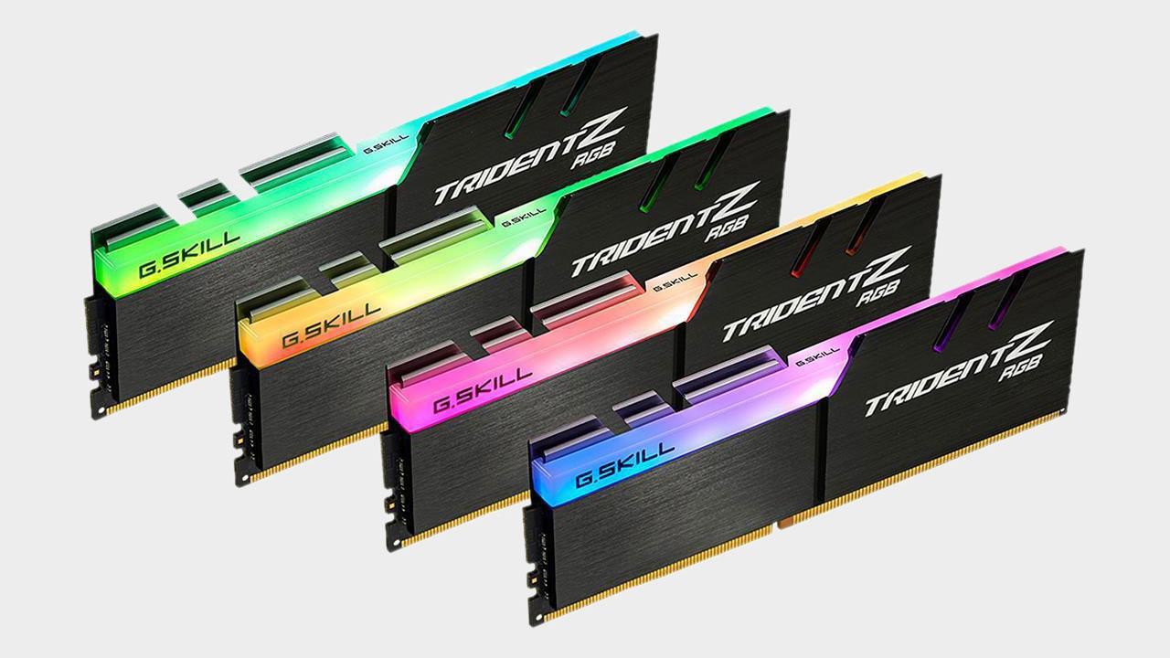 Memory: G.Skill 32GB TridentZ DDR4-3200 RGB (4x8GB)