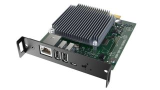 An NEC/Sharp MPi4 NEC MediaPlayer Kit