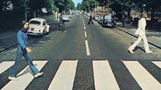 The Beatles Abbey Road - Social Distancing version