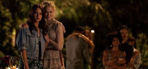 Nicole Kidman and Grace Van Patten in Nine Perfect Strangers