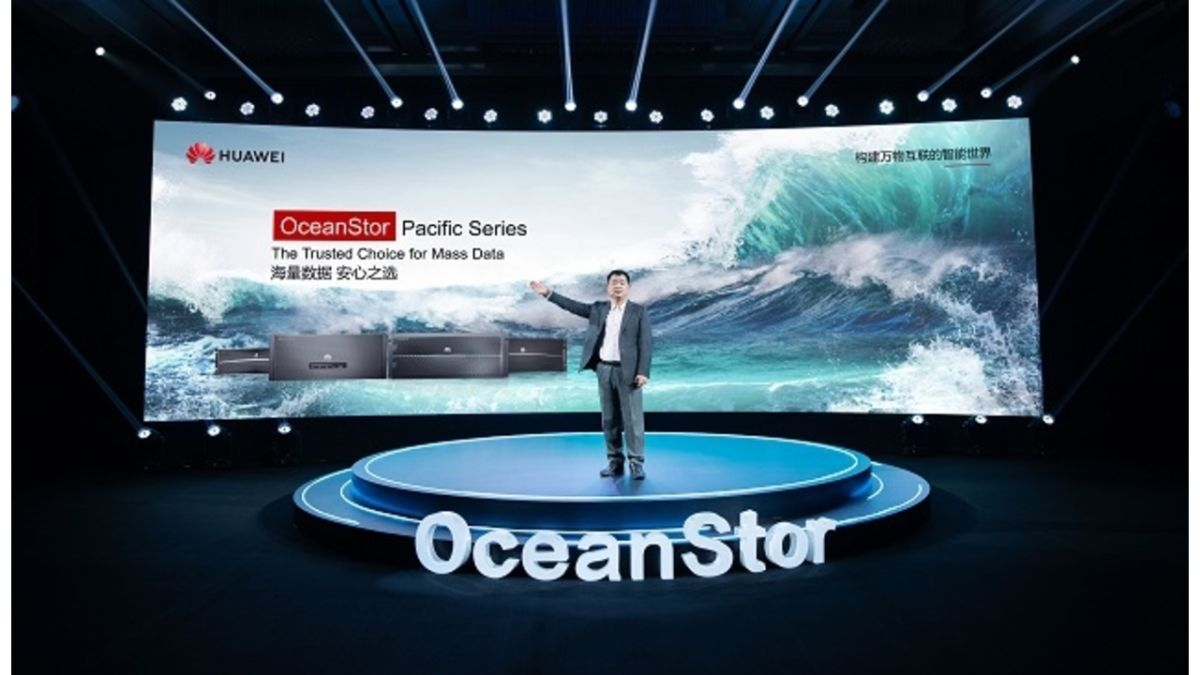 Huawei OceanStor Pacific Series brings a storage sea change