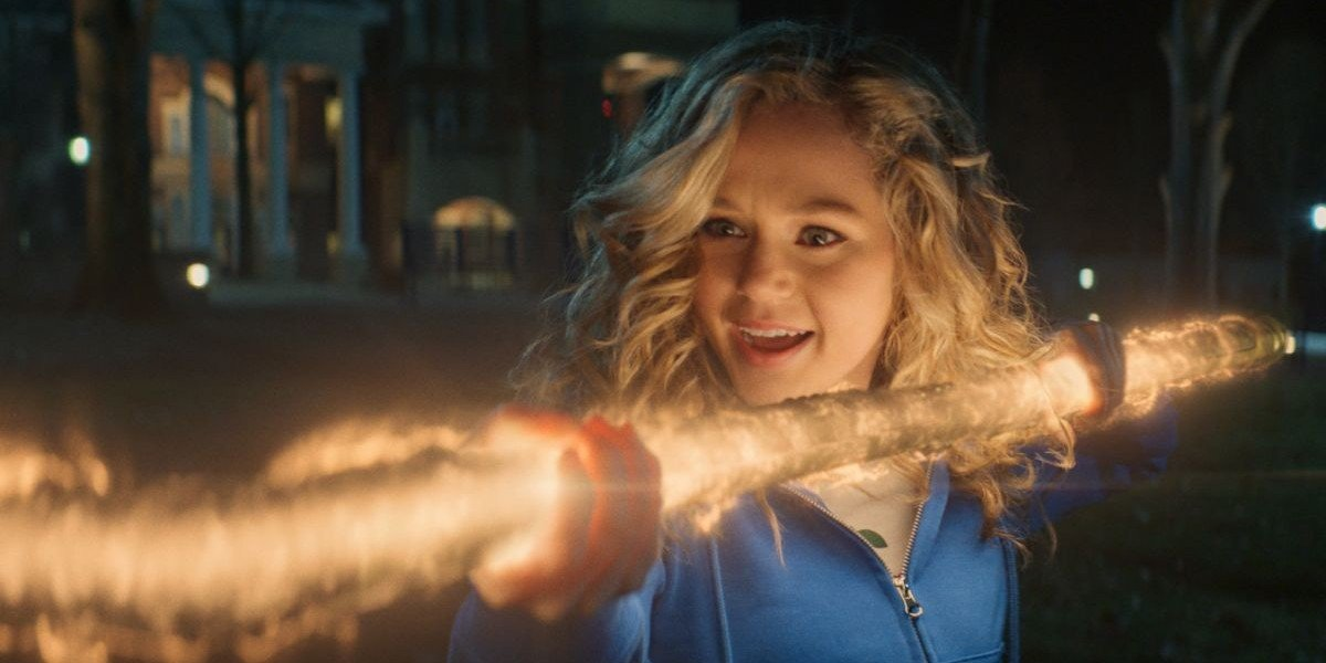 Brec Bassinger as Courtney Whitmore on Stargirl (2020)
