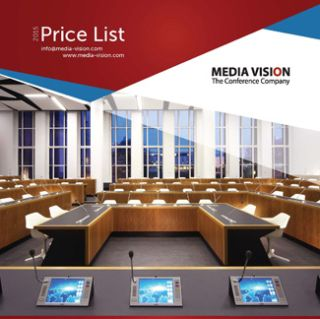 Media Vision Price List Available for TAIDEN Conference Systems