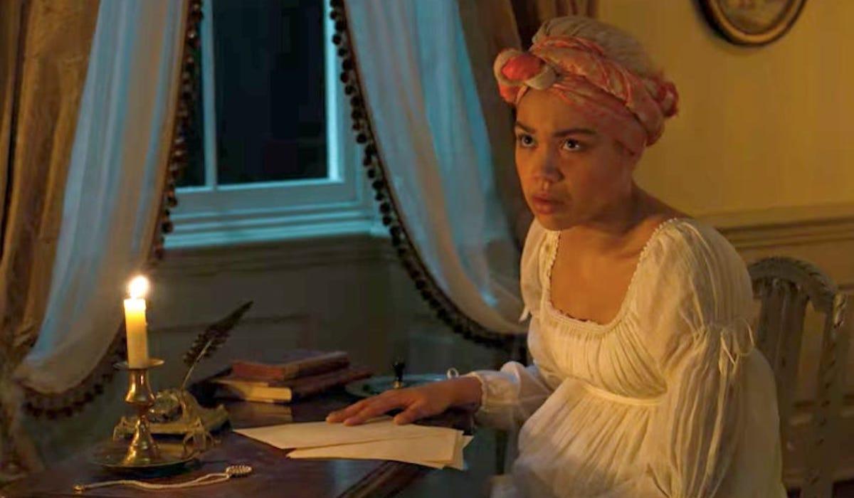 Ruby Barker as Marina Thompson in Bridgerton