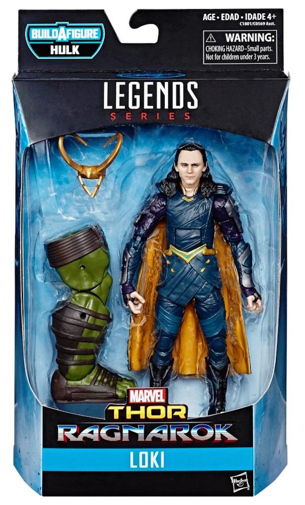Loki's Thor: Ragnarok action figure