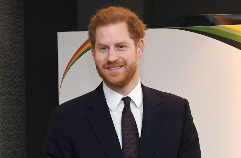 prince harry drops royal title first public engagement uk return