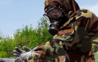 Military NBC Suit