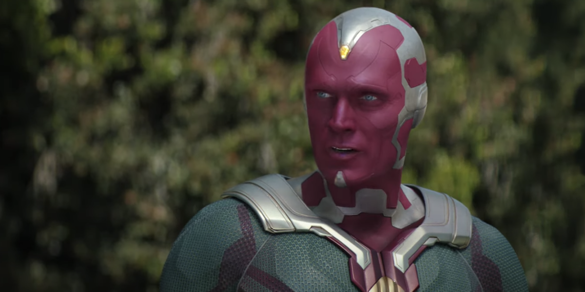 Vision played by Paul Bettany
