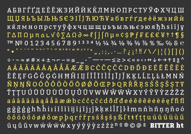 Font Bitter