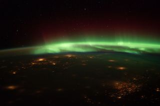 Northern Lights Space Station