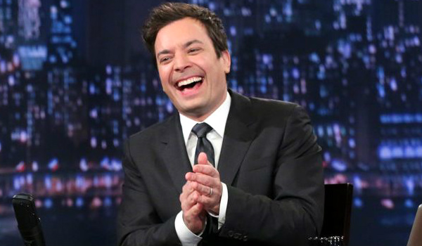 jimmy fallon laughing the tonight show