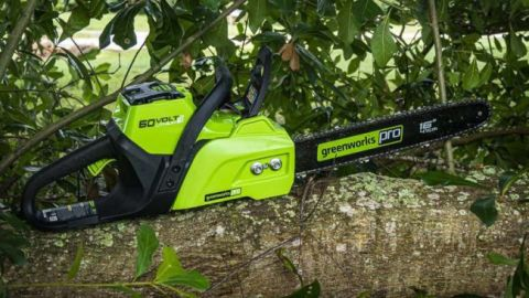 Greenworks 60-volt Lithium Ion Chainsaw Review | Top Ten Reviews