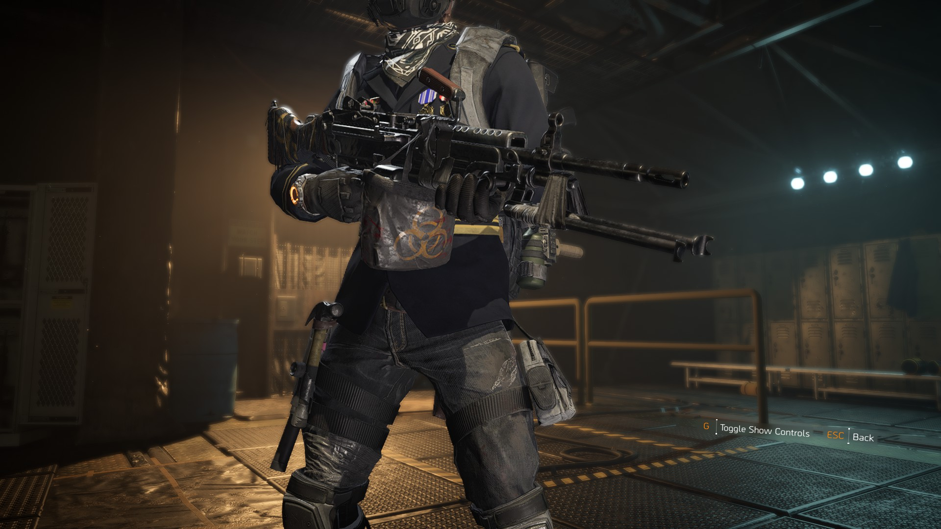How to get the Pestilence exotic LMG in The Division 2 | PC