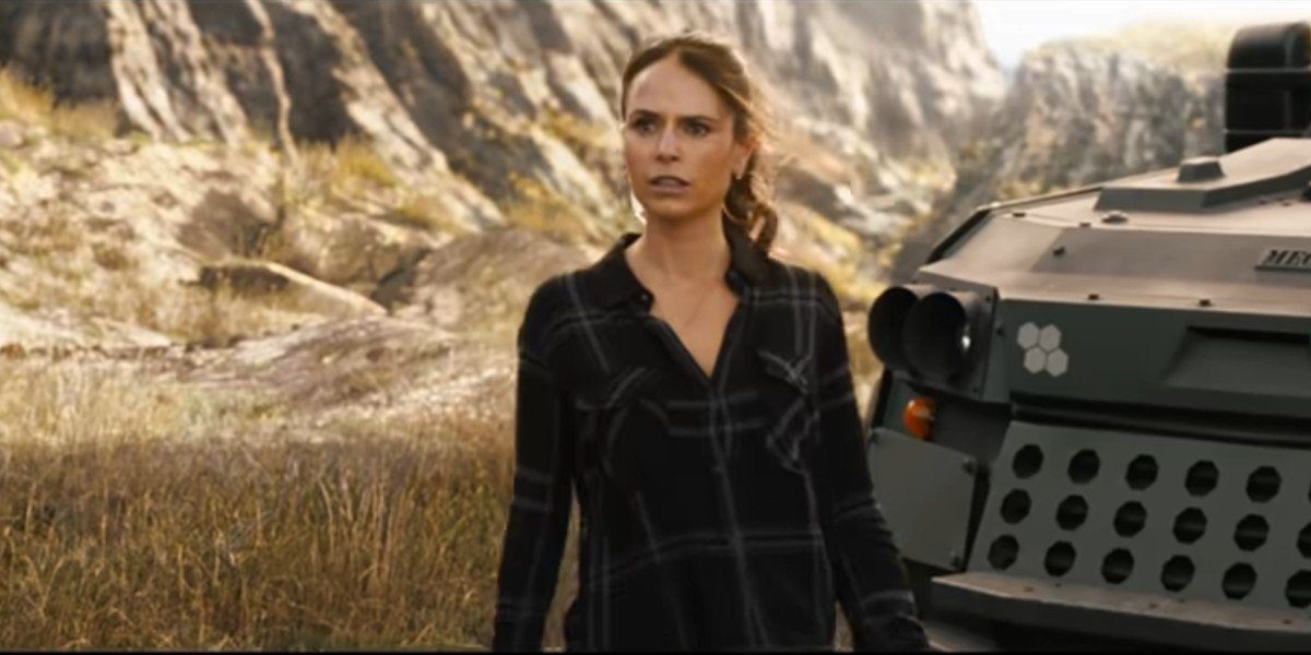 Jordana Brewster as Mia Toretto in Fast and Furious 9