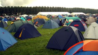 The woman was assaulted in her tent at Bloodstock on Sunday afternoon